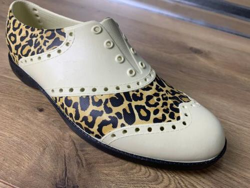 Biion Shoes The Oxford Leopard Print Womens