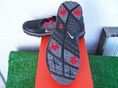 Nike Golf Tiger TW '15 Black Shoes Medium