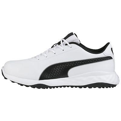 PUMA GRIP FUSION CLASSIC GOLF SHOES MENS MEDIUM -19056201- P