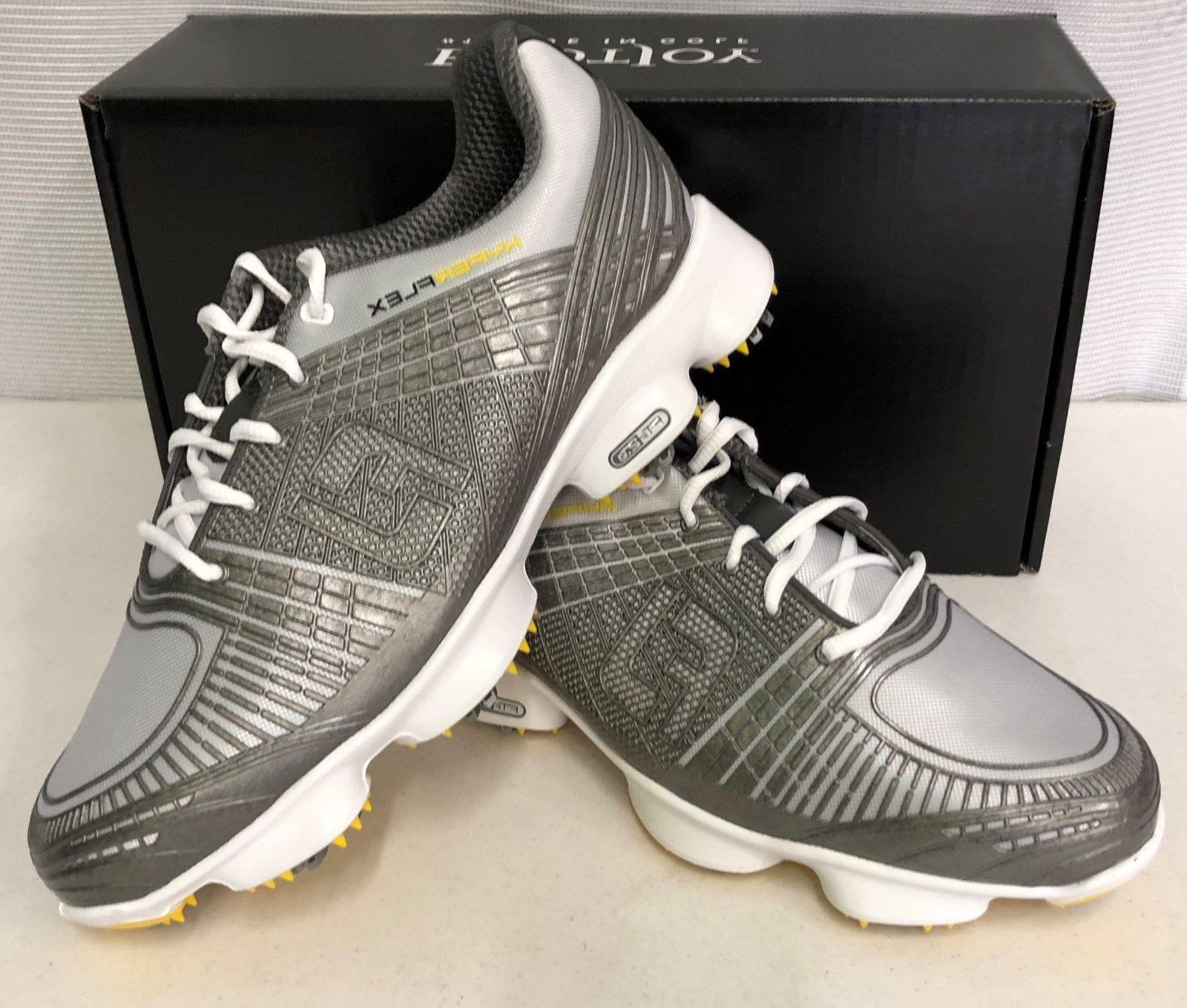 hyperflex ii mens golf shoes silver 51036