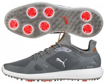 PUMA IGNITE PWRADAPT Golf Shoes Quiet Shade 10 Wide