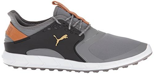 Puma Golf Ignite Pwrsport Shoe, Shade/Team 10 US