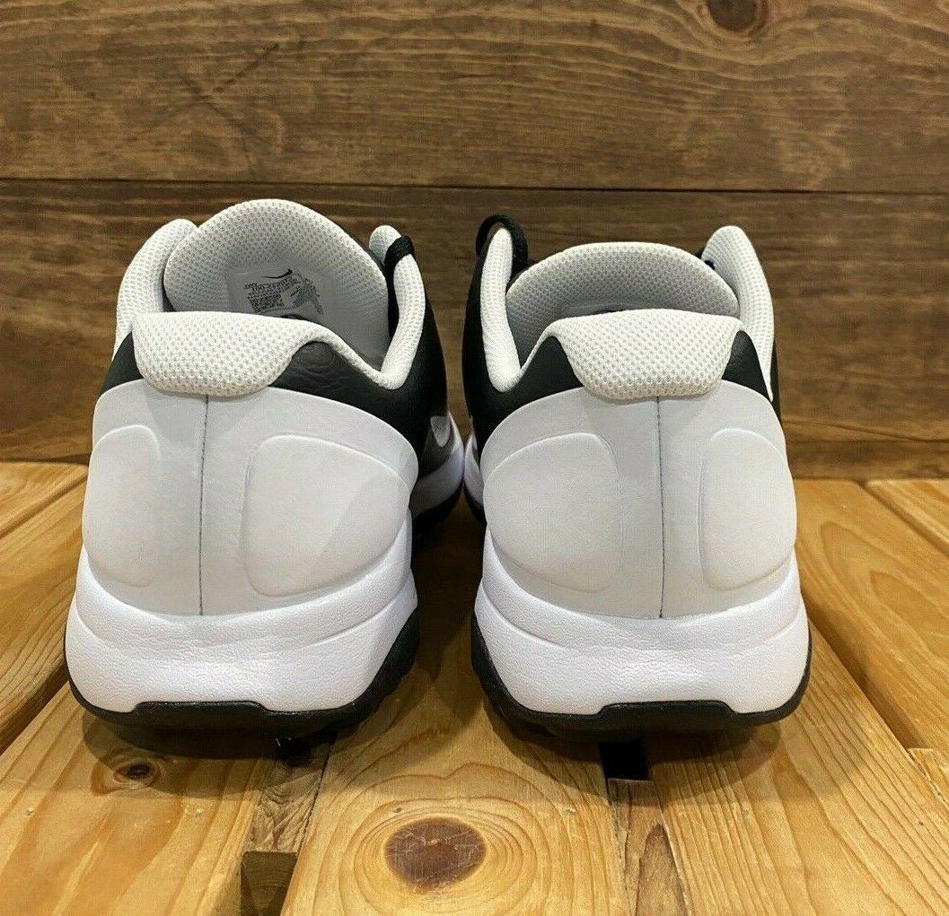 Nike Infinity Golf Shoes Wide Black White Wide Shoe