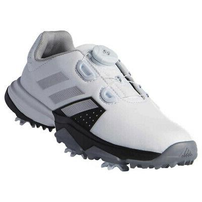 junior adipower spiked golf shoes brand new