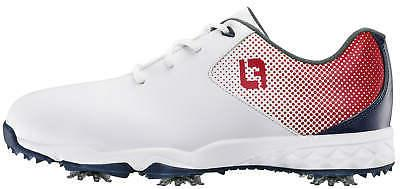 junior dna helix golf shoes 45014 white
