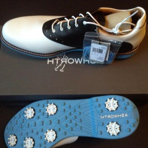 ASHWORTH SZ 15 GOLF SHOES NWT