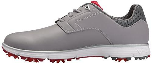 Callaway Men's LaJolla Golf Shoe Grey/red M US