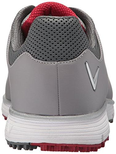 Callaway Men's Shoe Grey/red M US