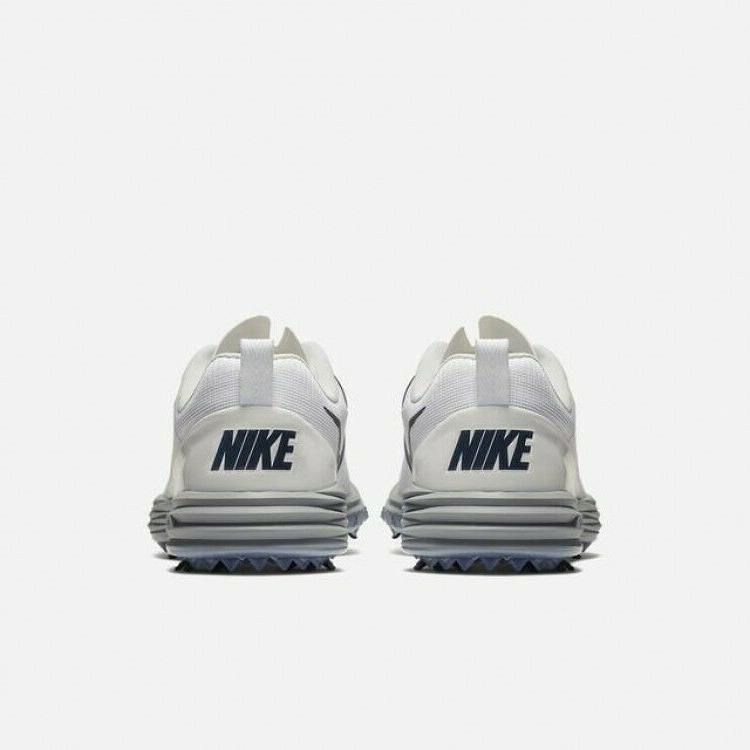 Nike Lunar Command White Blue 849968-106 Men's Cleats