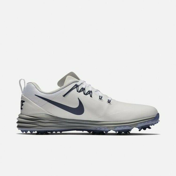 Nike 2 White Thunder 849968-106 Men's Shoes Cleats