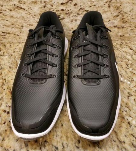Nike 2 Golf Shoes Black 899633 002 Spikeless