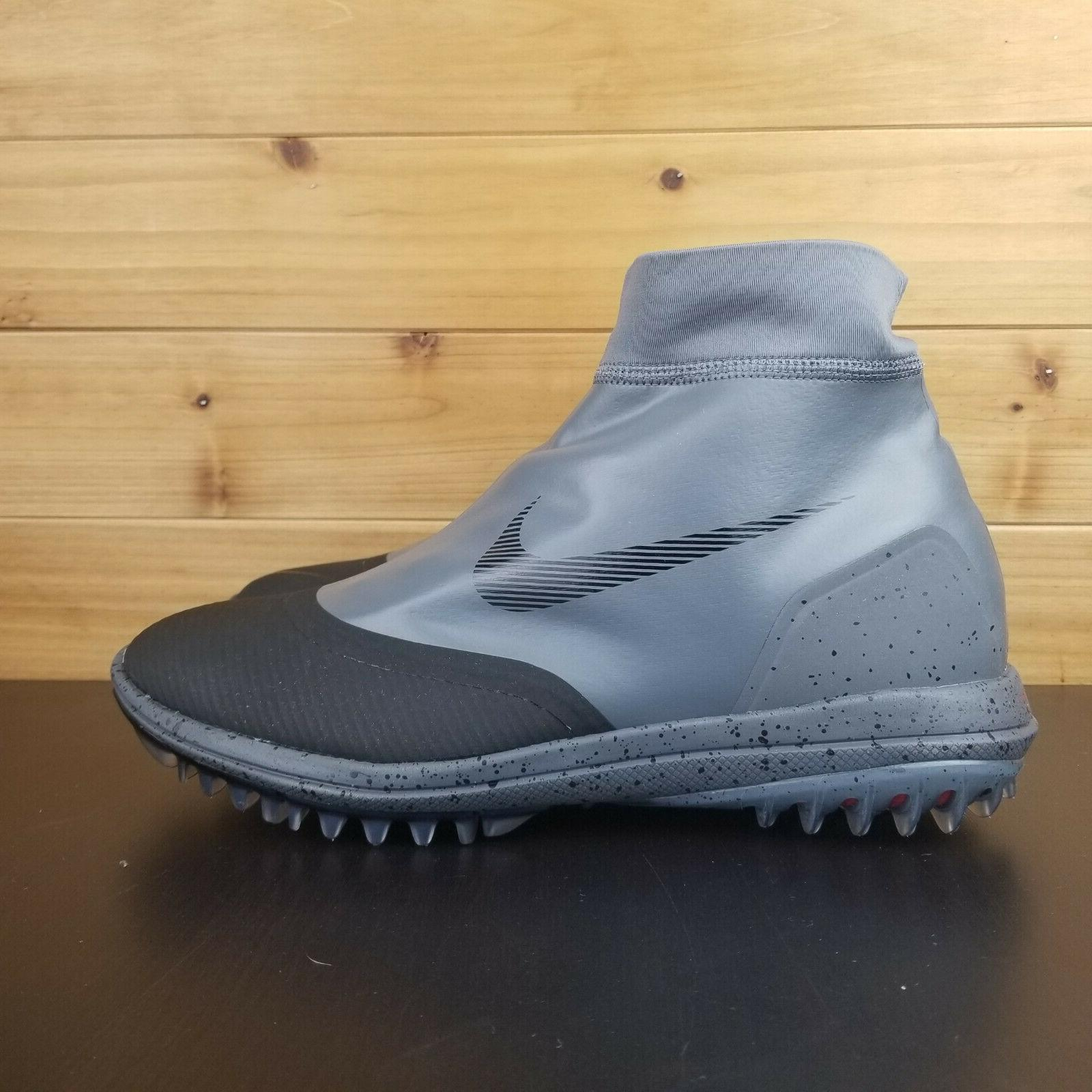 Nike Lunar Vaporstorm Shoes Gray 918623-003 Men's Wide Waterproof