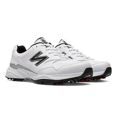 New Balance Men's 1701 Golf Shoes - White/Black