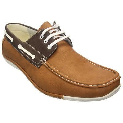 Alessio Men's Boat Shoe, Brand NEW