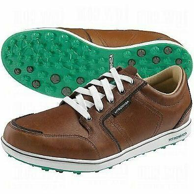 men s cardiff adc golf shoes brown