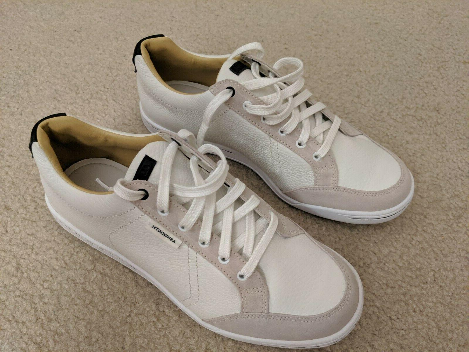 men s cardiff leather golf shoes size