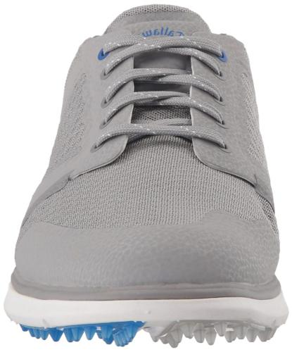 Callaway Golf Shoe, Grey/Blue, M US