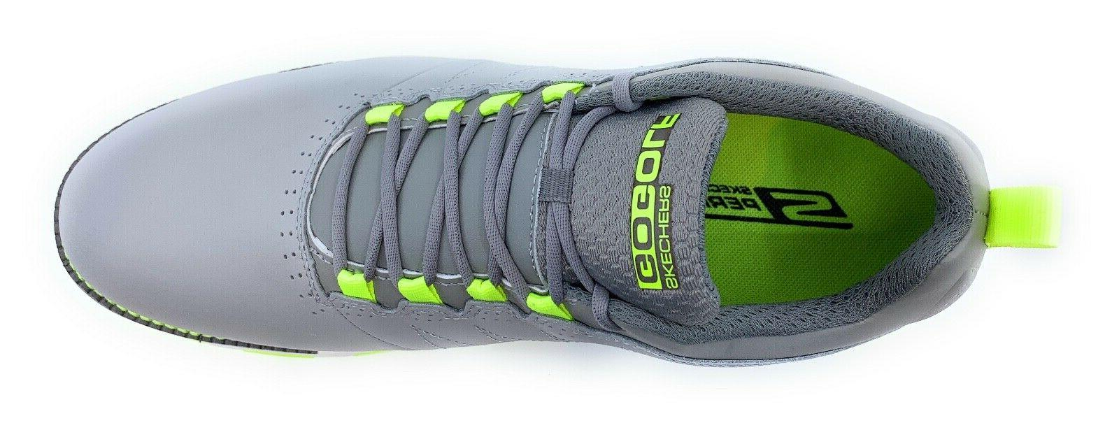 Skechers Leather Golf Elite Gray/Lime