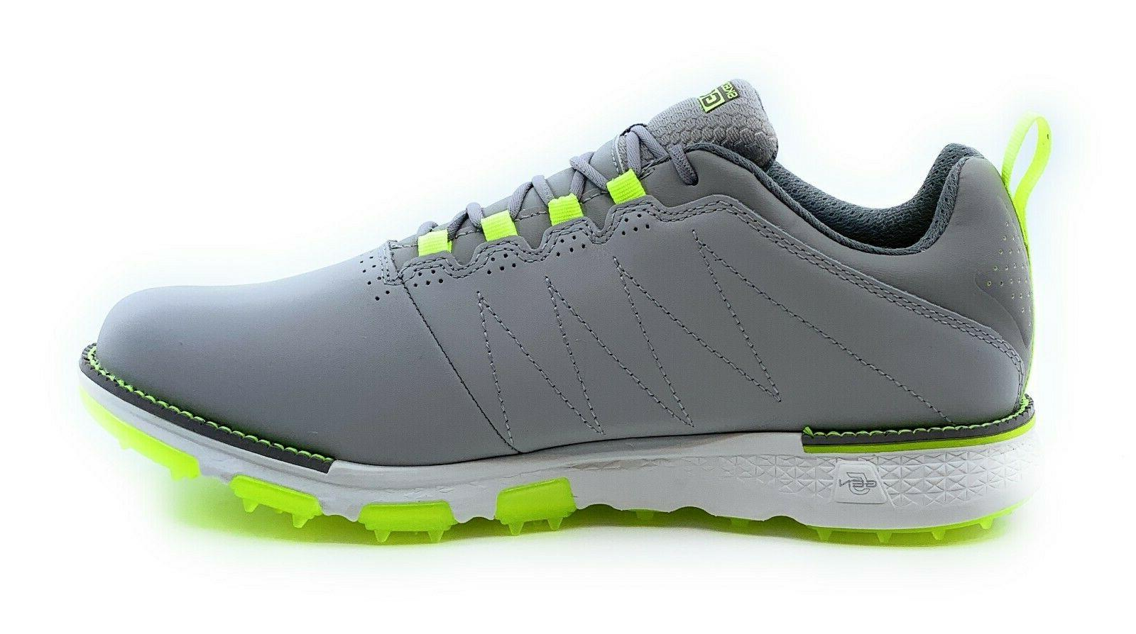 Skechers Leather Elite V.3 SP Gray/Lime