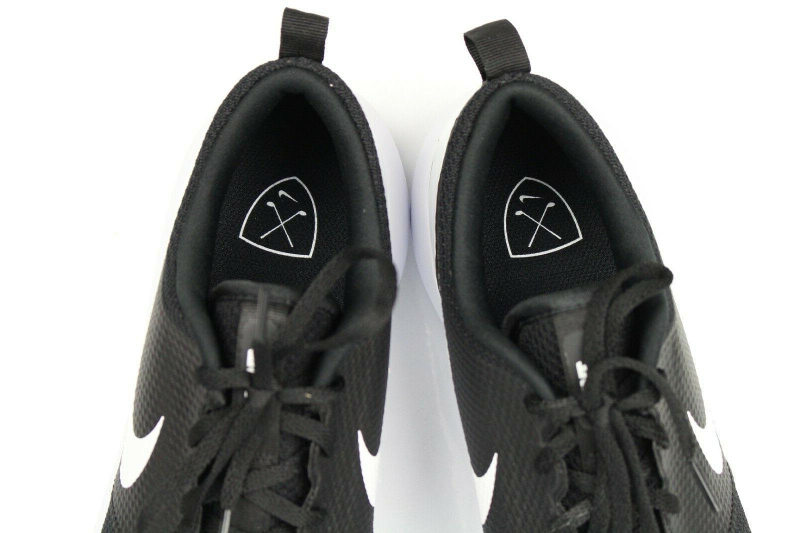 Nike Roshe Golf Shoes Black White