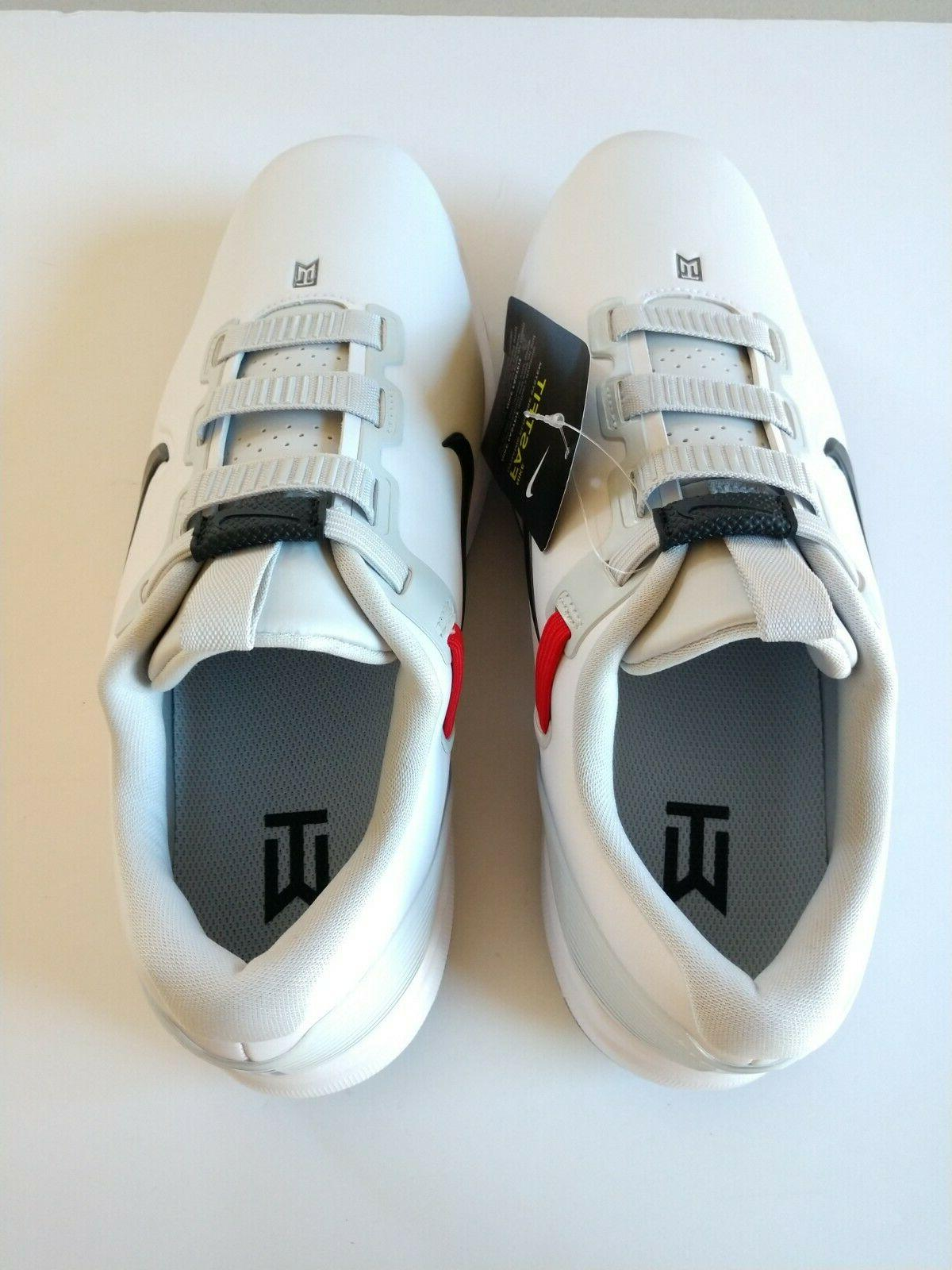 Nike Tiger Woods TW71 Fastfit Shoes White Black CD6300-100