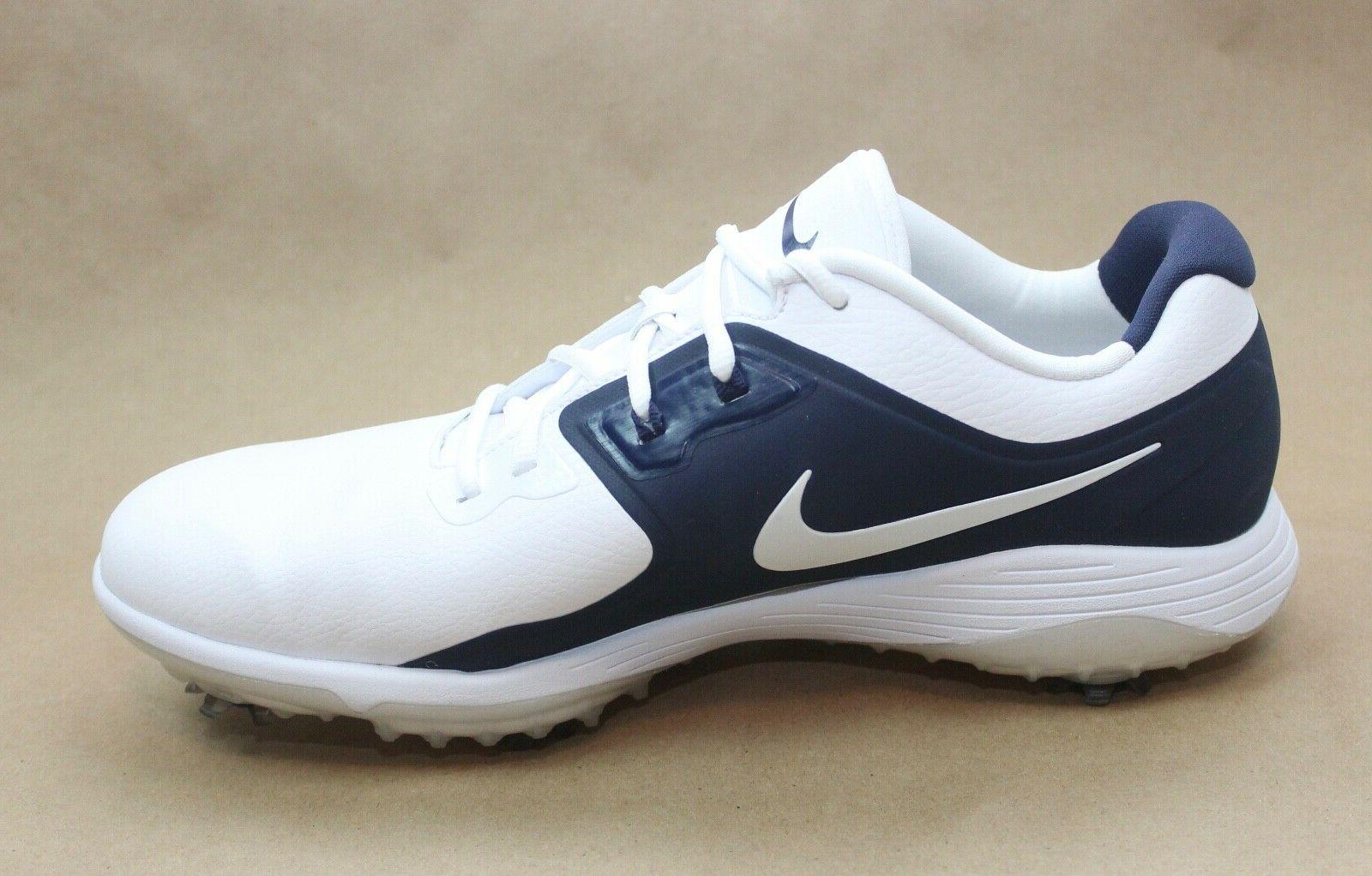 Nike Men S Vapor Pro Golf Shoes White Navy