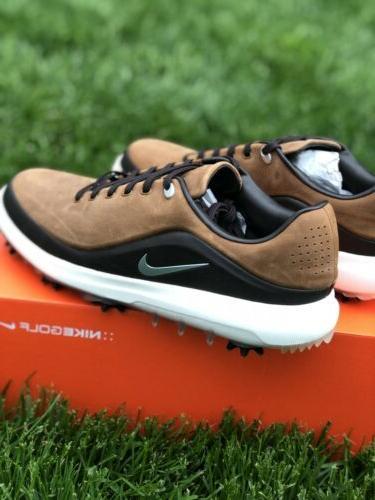 Nike Men's Zoom Precision Golf Shoes Cleats British Tan 8660