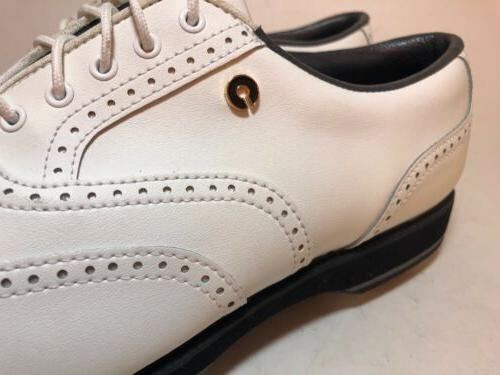 Golf Cleats Wing Tip Oxfords Shoes Wide