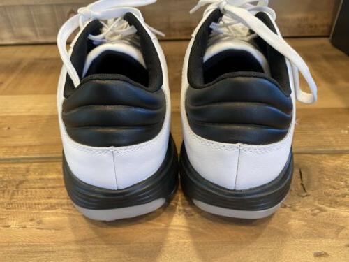 adidas Mens 360 Golf Size 11.5 US, White/black