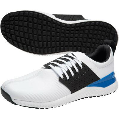 Adidas Mens Adicross Bounce Leather Spikeless Golf Shoes Mul