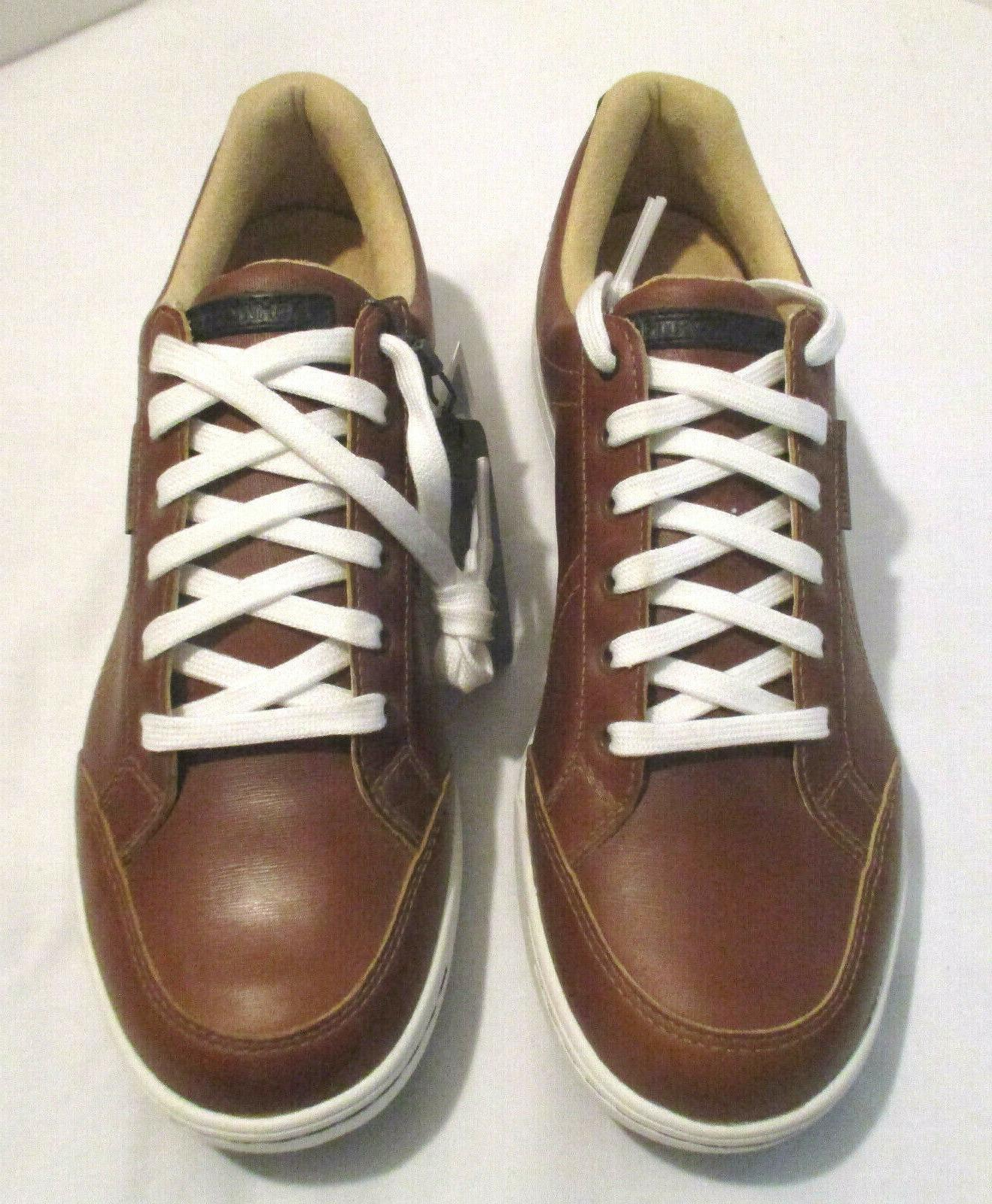 mens cardiff adc golf shoes brown size