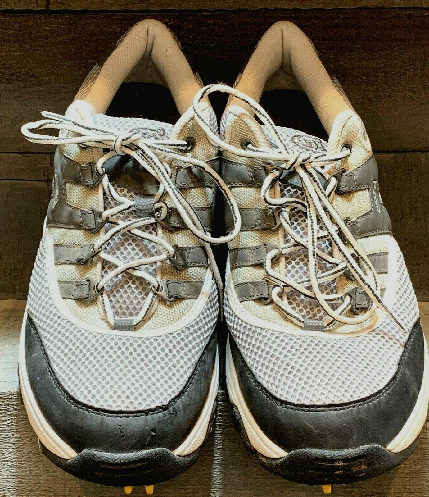 Mens Shoe Gray Taupe White Sneaker Style 697Z