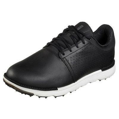 Mens Skechers Go Golf Elite V3 Approach Golf Shoes 54521 Bla