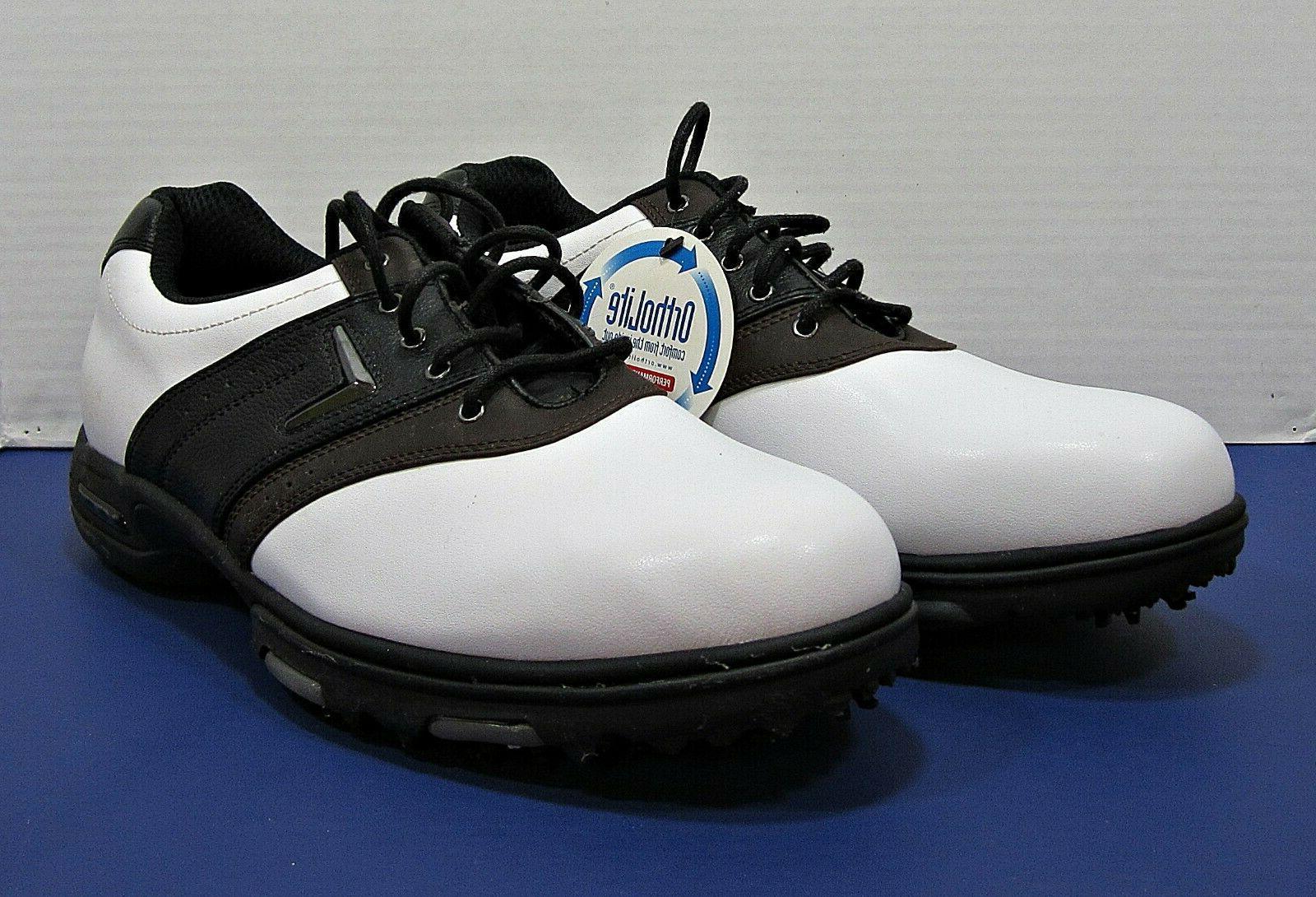 Mens Callaway Golf XTT LT Shoe 11.5 New Box White Black
