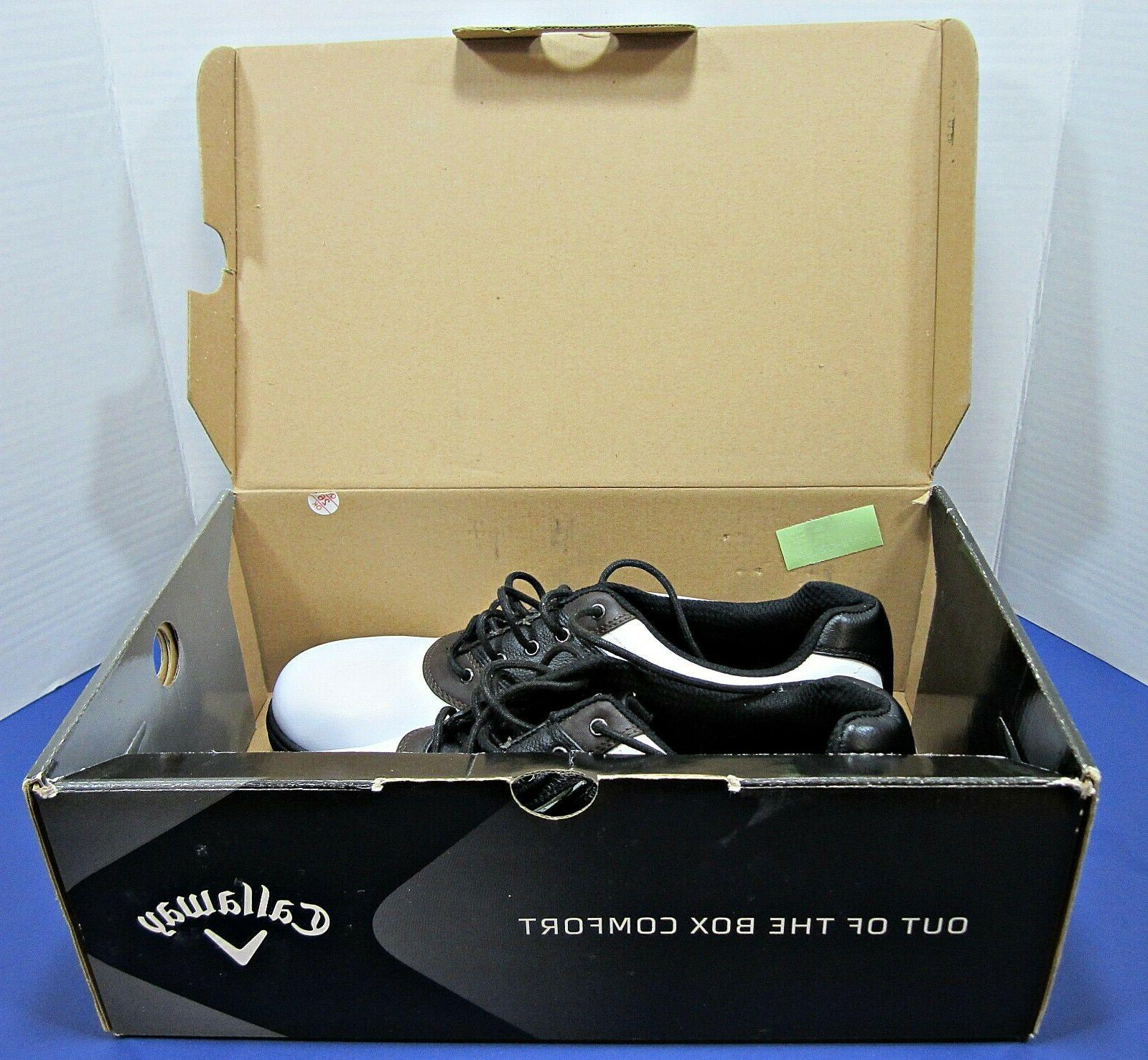 Mens Callaway Golf LT 11.5 M New in Box White