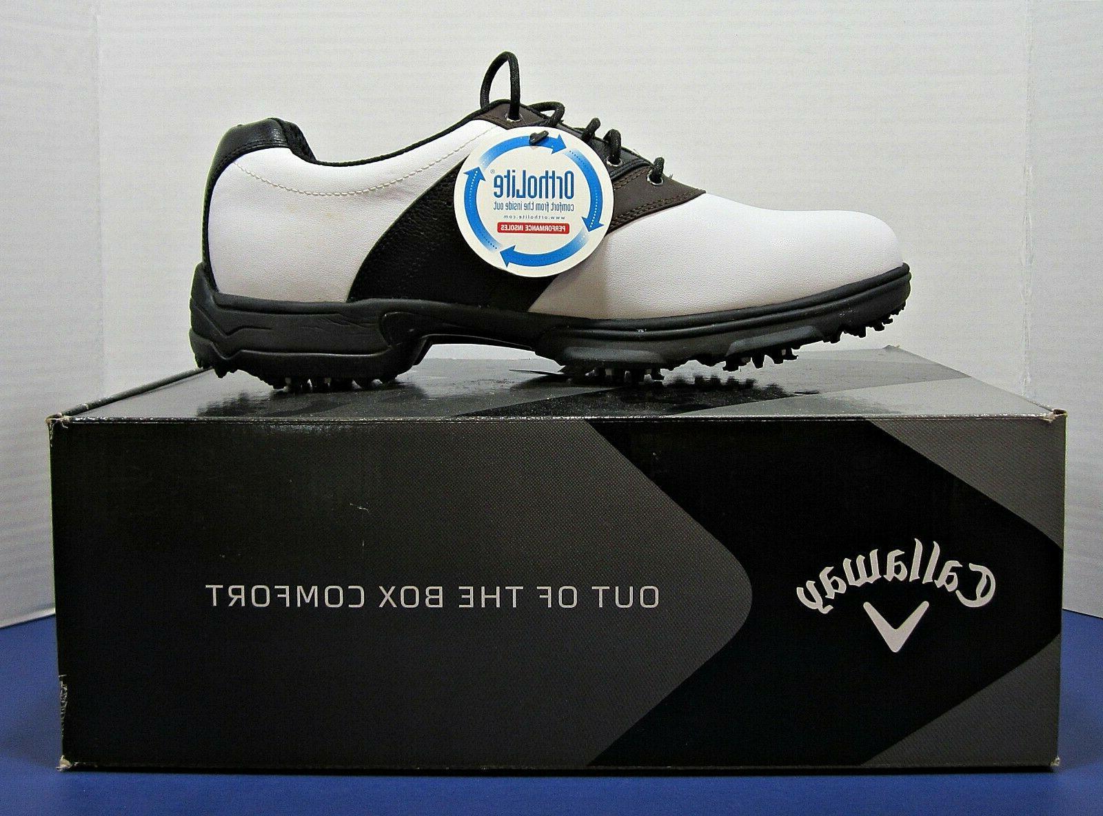 mens golf xtt lt saddle shoe size