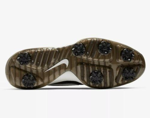 Nike Mens Roshe Tour Golf Black White Shoes SZ 11.5