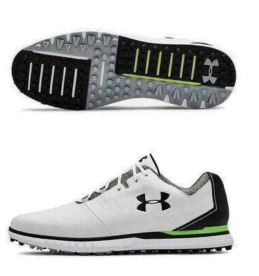 mens showdown sl golf shoes white black