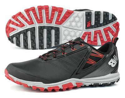 New Balance NBG1006BRD Minimus SL Black/Red Golf Shoes Spike