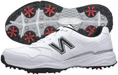 nbg1701 white black golf shoes mens waterproof