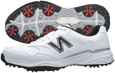 New Balance NBG1701WK White/Black Golf Shoes Mens Waterproof