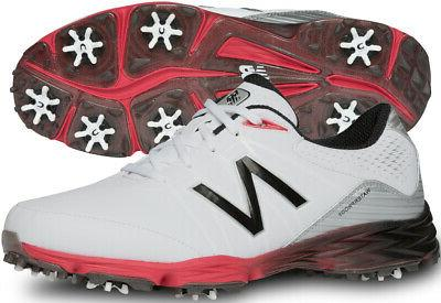 nbg2004 golf shoes white red