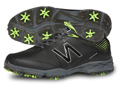 New Balance NBG2004BKG Golf Shoes Mens Black/Green Waterproo
