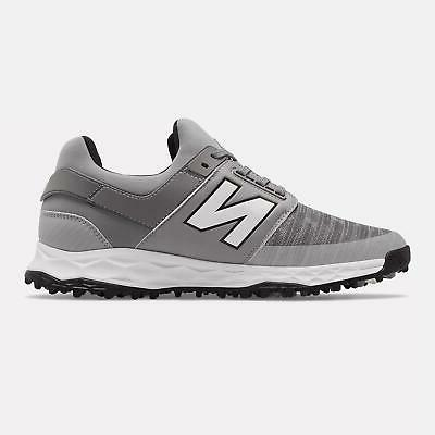 New NBG4000GR Leather Grey Wide Fitting Golf Shoes For Men's 4E