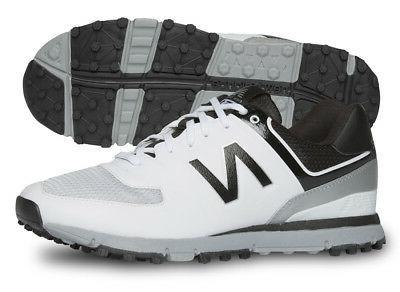 nbg518wk golf shoes mens white black grey
