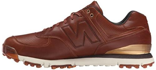 New Balance Golf Brown, 8.5 4E