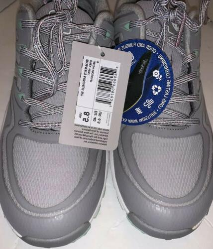 New NBGW/1005GMT Minimus WP Spikeless Womens Shoes Grey/Green