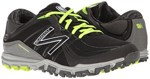 New Balance Women's Golf Shoe Black/Lime 7.5 B US
