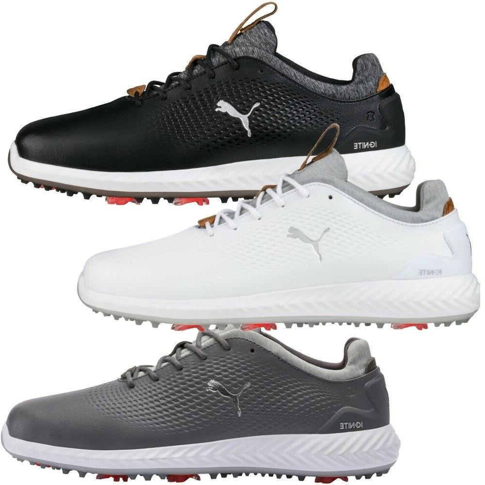 new 2018 ignite pwradapt leather golf shoes