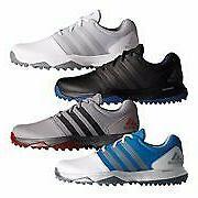 New Adidas 360 Traxion Golf Shoes LIGHTWEIGHT MICROFIBER LEA